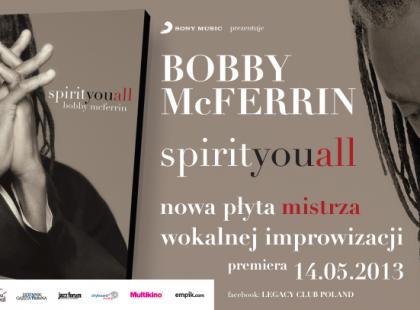 """Bobby McFerrin """"spirityouall"""""""