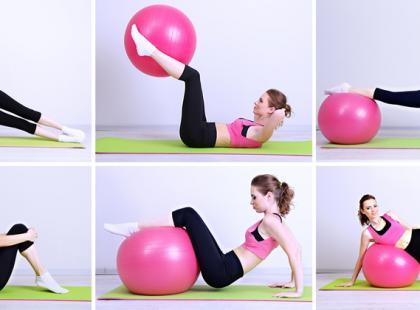 Body ball – ćwiczenia z piłką (galeria)