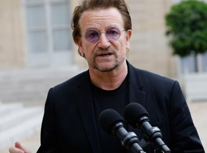 Bono ostro o Polsce na koncercie w Amsterdamie
