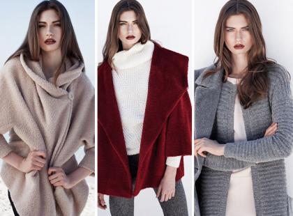 Boskie płaszcze i kurtki z wełny alpaki w limitowanej kolekcji Aryton