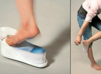 Boso, ale w podeszwach – Disposable Shoes
