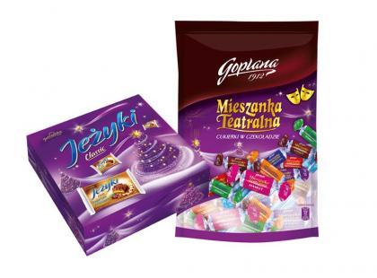 Boże Narodzenie ze słodyczami Jutrzenki Colian