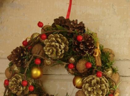 Bożonarodzeniowe dekoracje - propozycje florystki