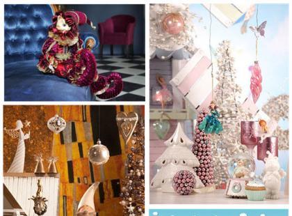Bożonarodzeniowe figurki na stół lub komodę