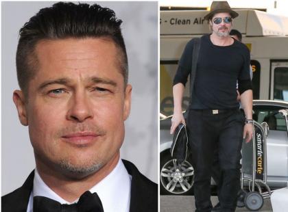 Brad Pitt bardzo się postarzał. I zaniedbał!