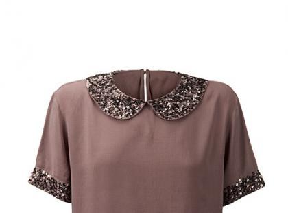 Brązowa bluzka - Tatuum