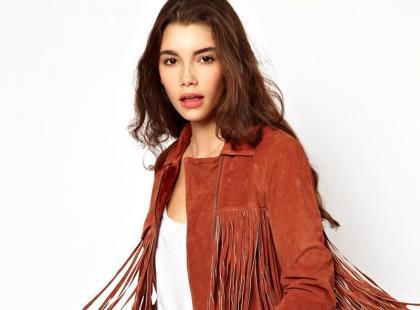 Brązowe ramoneski - moda na wiosnę 2013