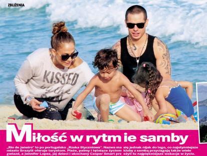 Brazylijskie wakacje Jennifer Lopez