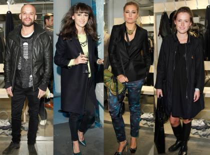 Brodka, Sadowska i Frycz na otwarciu sklepu Collection of Style
