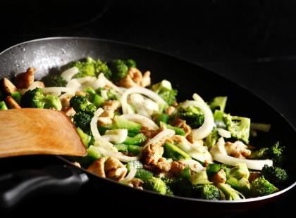 Brokuły z kurczakiem
