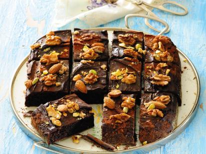 Brownie - bardzo czekoladowe ciasto