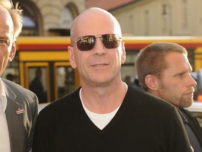 Bruce Willis w Warszawie