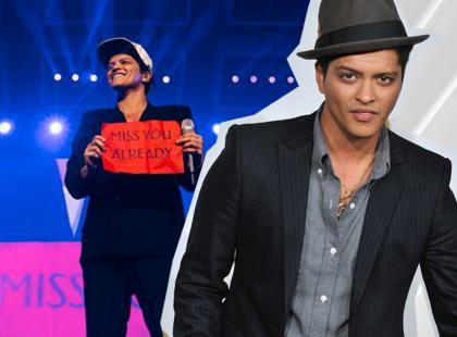 Bruno Mars wzruszony zachowaniem Polaków! Zobacz, jakie zdjęcie opublikował i co napisał!