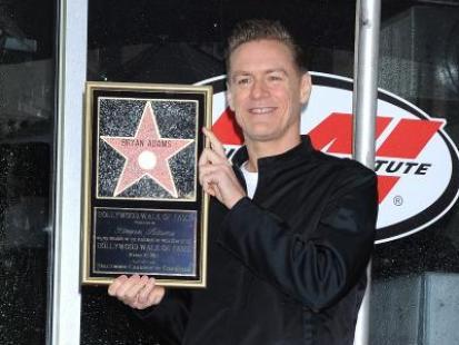Bryan Adams otrzymał hollywoodzką gwiazdę