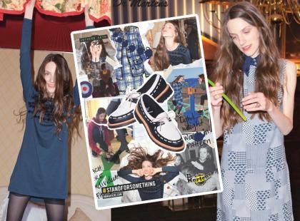 Brytyjska top modelka i kultowe buty dla buntowniczek
