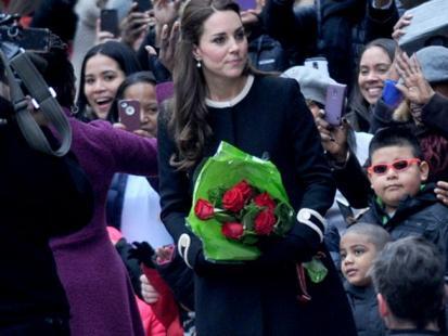 Brzuszek Księżnej Kate!