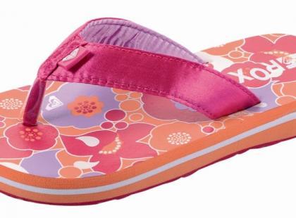 Buciki i klapeczki z kolekcji Roxy Teenie Wahine - wiosna/lato 2009