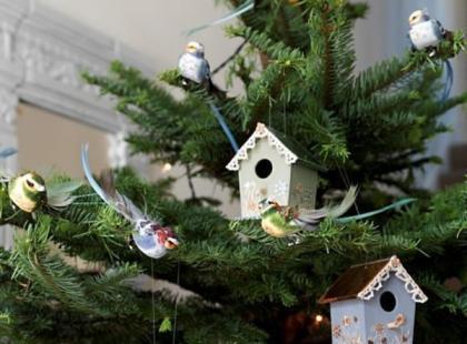 Budki dla ptaków zamiast bombek - krok po kroku