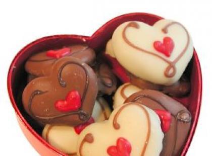Bukiet ze słodyczy