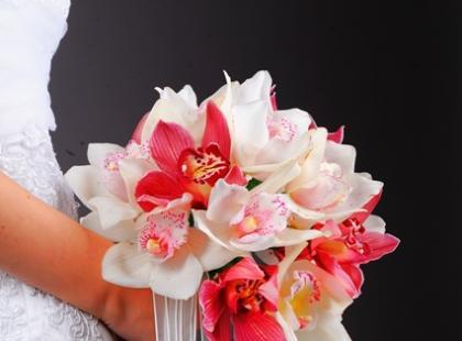 Bukiety ślubne ze storczyków