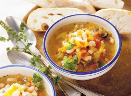 Bułgarska zupa fasolowa