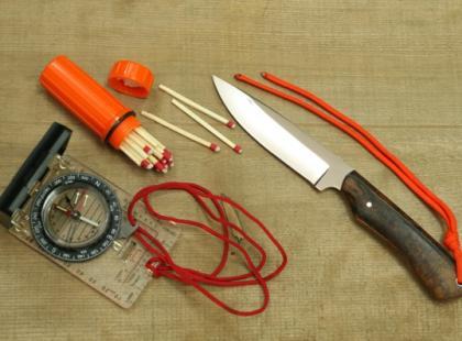 Buschcraft – potrzebne narzędzia
