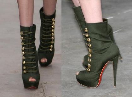 Buty jak z wybiegu Katrantzou