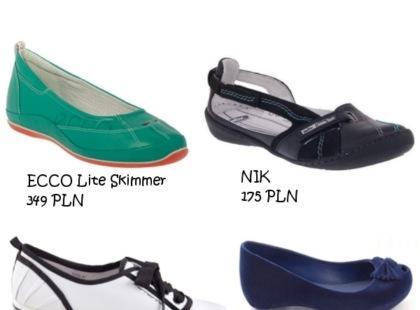 Buty na zerowym obcasie - trend na wiosnę i lato 2010