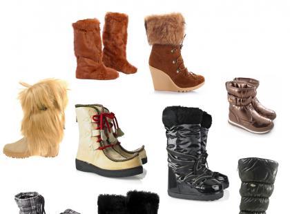 Buty na zimę: futrzaki i śniegowce - nasz wybór!