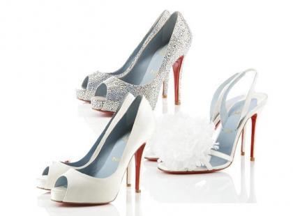 Buty ślubne od Christina Louboutina