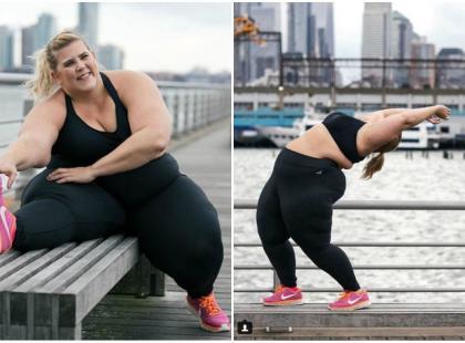 """""""Bycie tłuściochem to wstyd"""", """"to jest wstrętne"""" – firma zatrudniła modelkę plus size, ale nie wszystkim się to spodobało…"""