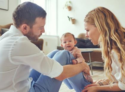 Bycie w domu z dzieckiem to nie praca? Zostaw męża z dzieckiem na tydzień...