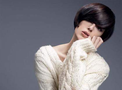 Camille Albane - fryzury na jesień - zimę 2012