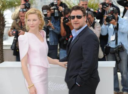 Cannes 2010: Cate Blanchett i Russell Crowe