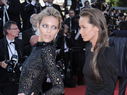 "Cannes: Anja Rubik i Kasia Sowińska na premierze filmu ""This Must Be the Place"""