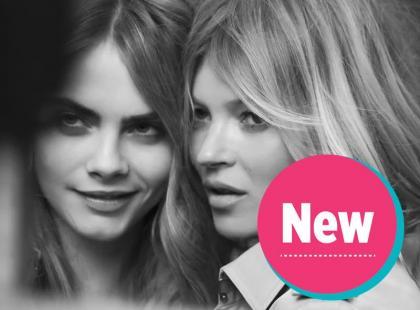 Cara Delevingne i Kate Moss w kampanii najnowszego zapachu Burberry