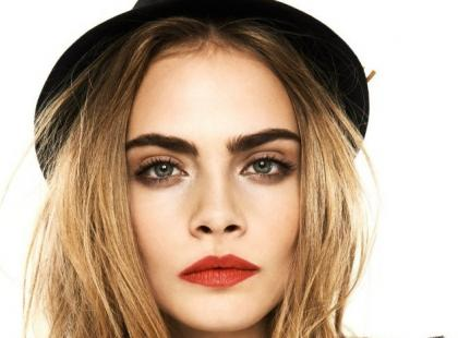 Cara Delevingne w lookbooku Reserved na wiosnę 2013