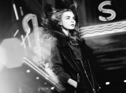 Cara Delevingne w młodzieżowej kampanii Zary