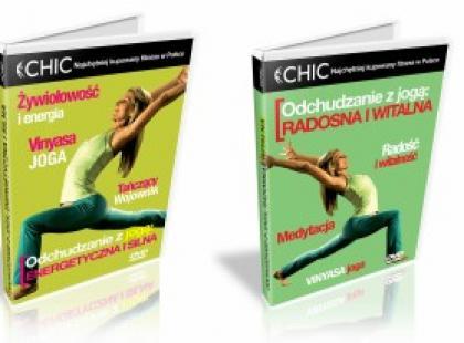 Cardio wyszczuplające i fitness odchudzający z jogą - nowe tytuły serii CHIC