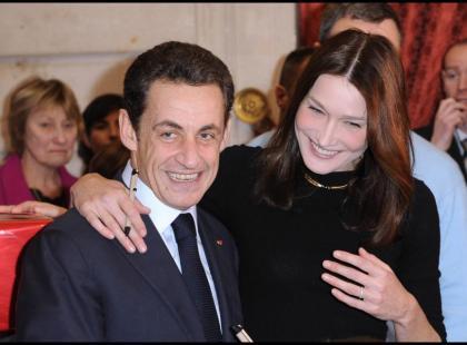Carla Bruni i Nicolas Sarkozy - Koniec przedstawienia