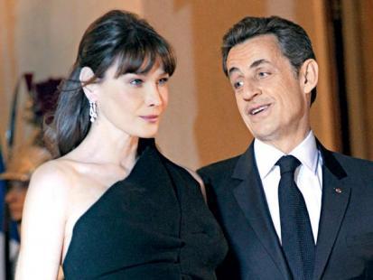 Carla Bruni i Nicolas Sarkozy - Prezydenckie dziecko