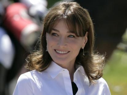 Carla Bruni - Pierwsza mama Francji