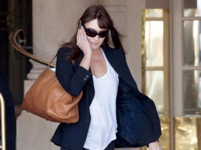 Carla Bruni-Sarkozy jednak w ciąży