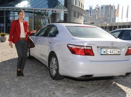 Carolina Herrera dla Lexus Fashion Awards