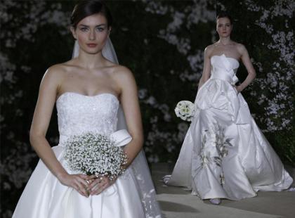 Carolina Herrera - suknie ślubne 2012