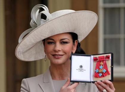 Catherine Zeta-Jones odznaczona Orderem Imperium Brytyjskiego