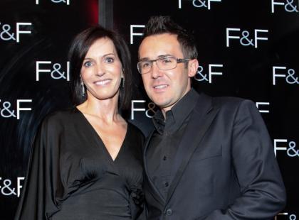 Celebrities na pokazie kolekcji F&F na sezon jesień-zima 2009/2010