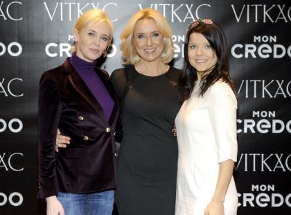 Celebrytki zorganizowały sobie gwiazdkowe spotkanie w ekskluzywnej perfumerii