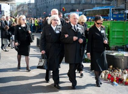 Ceremonia pogrzebowa pary prezydenckiej
