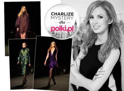 Charlize Mystery: kolejny dzień pokazów w Nowym Jorku